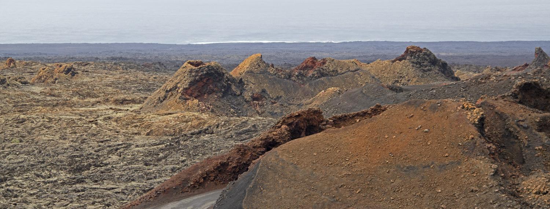 Il parco vulcanico del Timanfaya a Lanzarote, Canarie