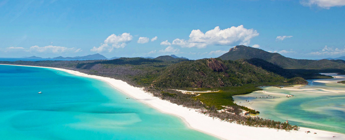 Visitare le isole Whitsundays in Australia
