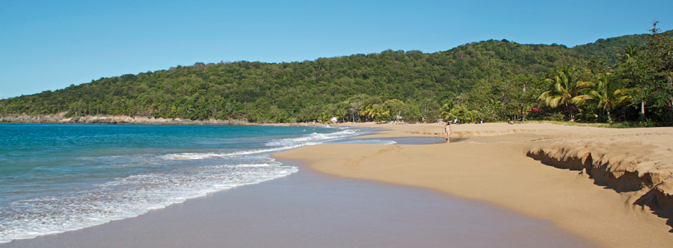 Guadalupa mappa delle spiagge più belle
