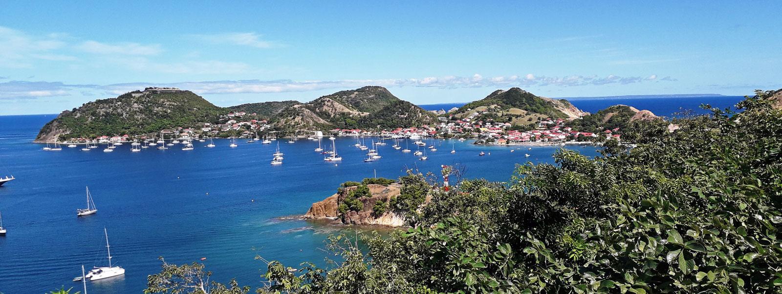 Les Saintes, i Caraibi pittoreschi come un quadro d'autore